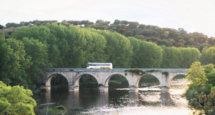 Cómo llegar a Baños de Ledesma desde el Norte o Madrid en bus, tren o coche